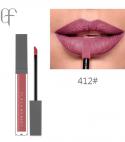 flash moment matte bright pink nude color longlasting lipstick #412